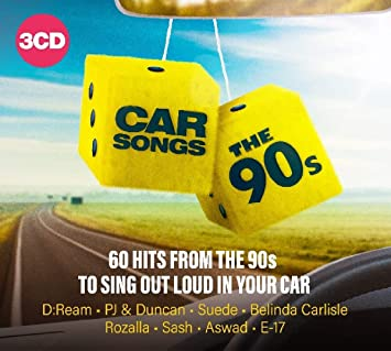 Car Songs - The 90s: Amazon co uk: Music