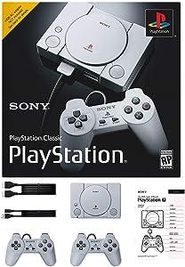 Sony PlayStation Classic Console Holiday 20 Games Bonus Bundle