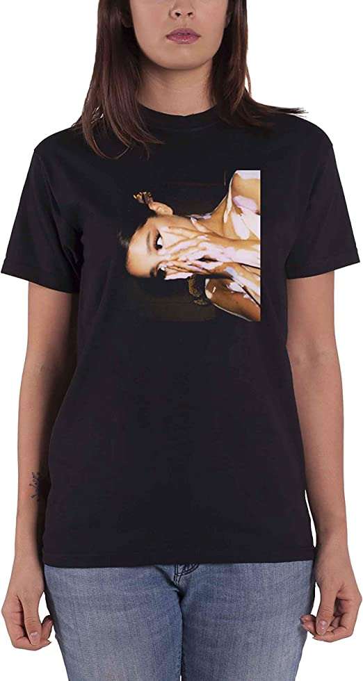 Ariana Grande T Shirt Sweetener Side Photo Logo Nouveau Officiel Unisex