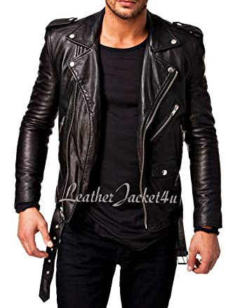 stylish leather s jacket Men