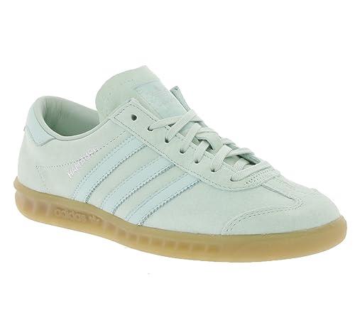 Adidas Hamburg Herren Sneaker Grün: : Schuhe