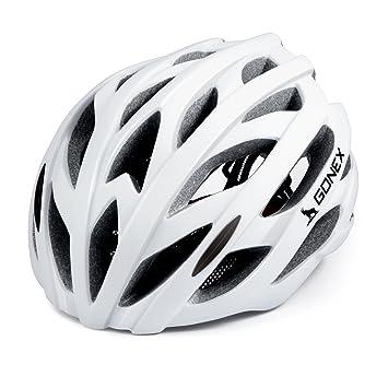 Gonex Wind Cross Road Casque De Vtt Vélo Casque Pour Adulte Blanc