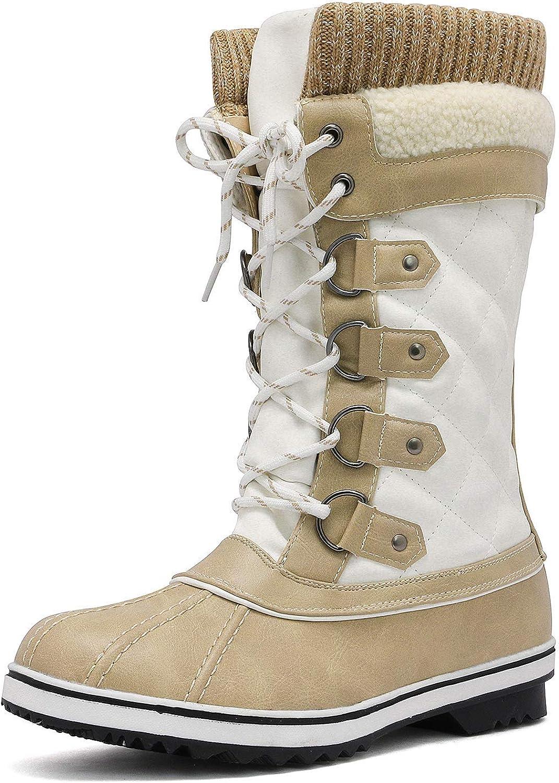 Mid-Calf Winter Snow Boots
