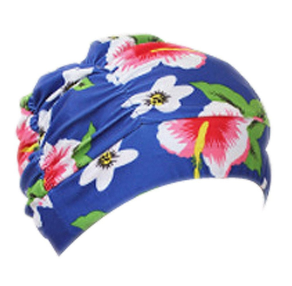 Swimming Hat, Mapletop Unisex Bathing Cap Printed Swimming Cap Stretch Drape mapletop-6