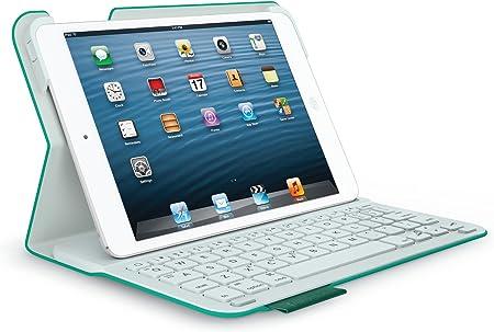 Logitech Ultrathin Keyboard Folio - Funda para Tablet iPad (con Teclado), Verde