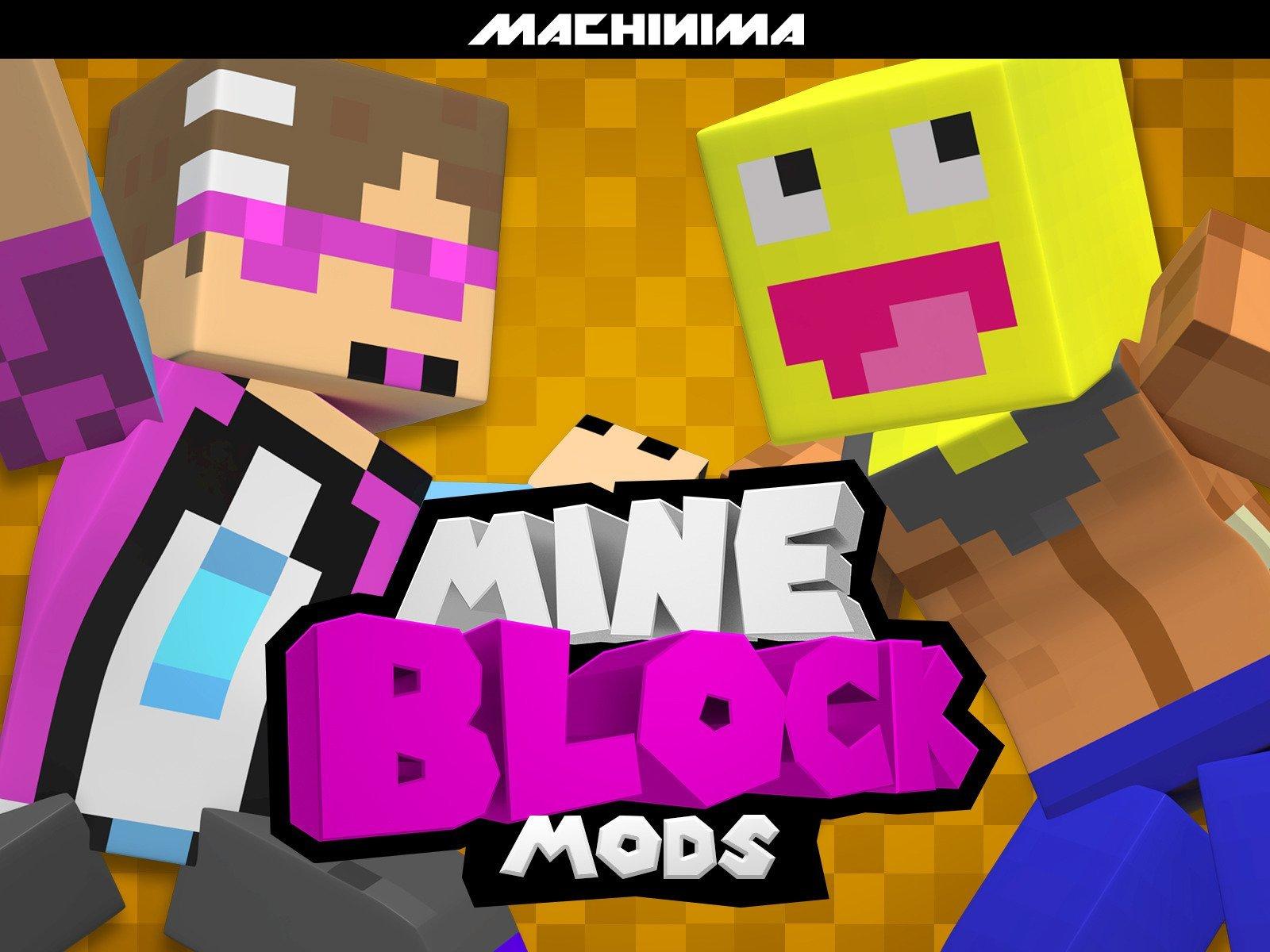 Amazon com: Watch Clip: Mine Block: Mods   Prime Video