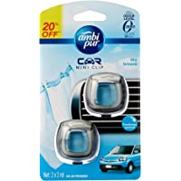 Ambi Pur Car Mini Clip Sky Breeze 2 x 2mL