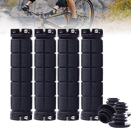 Bicycle MTB BMX Road Mountain Bike Cycling Handlebar Lock-on Mushroom End Grips
