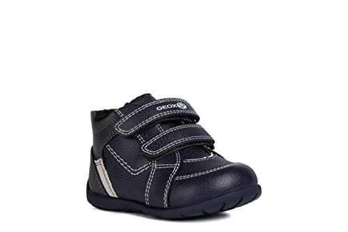 Geox Kids' Kilwi Boy 22 High Top Velcro Sneaker