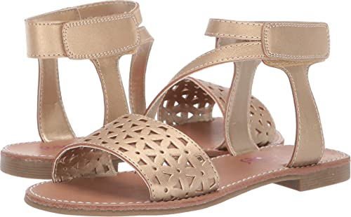 NEW Girl/'s Toddler/'s RACHEL SHOES REBECCA White Flower Heel Sandals Dress Shoes