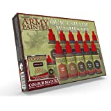 The Army Painter Warpaints Quickshade Wash Set - Miniature Painting Kit of 11 Dropper Bottles with Fluid Acrylic Paint…