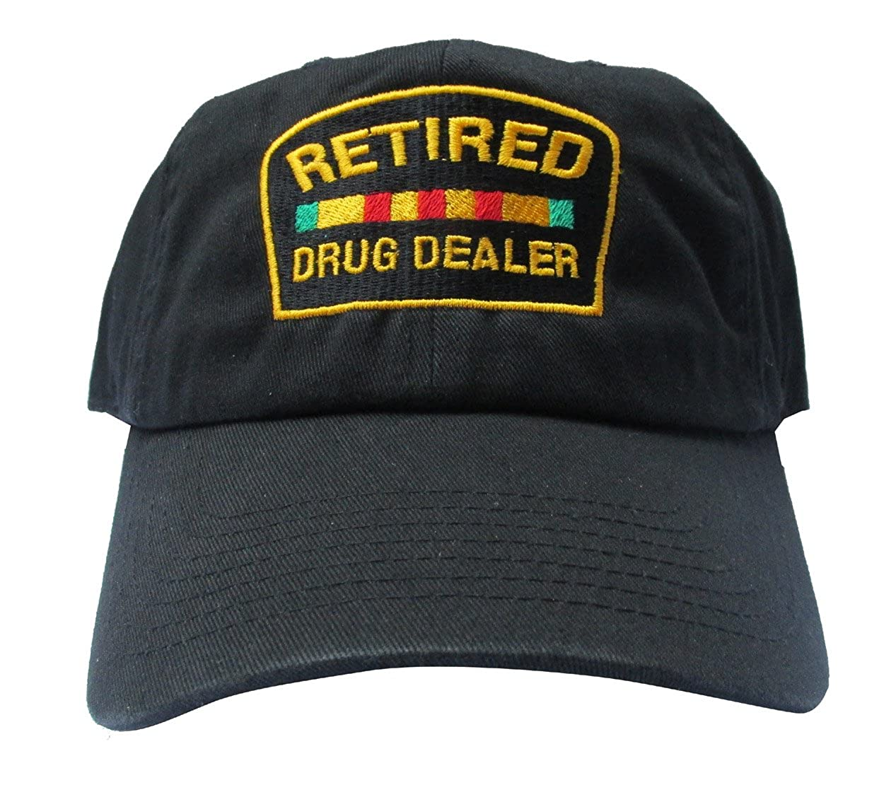 Rob sTees Retired Drug Dealer Black Meme Unstructured Twill Cotton Low  Profile Dad Hat Cap at Amazon Men s Clothing store  636ecef00c8f