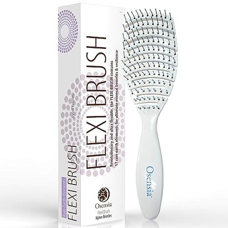 Cepillo para desenredar Flex con cerdas de Nylon para el pelo – Cepillo desenredante para niños