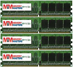 MemoryMasters New 4GB 4x1GB DDR2 PC2-5300 667MHz RAM Memory for Dell Compatible Vostro 200 Slim Tower