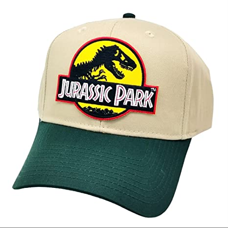 3ce95b9bf35 Jurassic Park Yellow Sci fi Movie Patch Snapback Cap Green Khaki Hat  Project T (Green