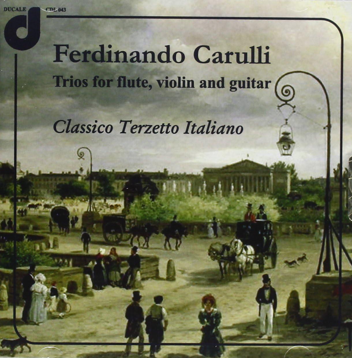 Trii Per Flauto, Violino E Chitarra: Classico Terzetto Italiano: Amazon.it:  Musica