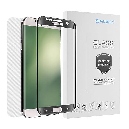 14 opinioni per Pellicola Vetro Temperato Samsung Galaxy S7 Edge, Arbalest® [1 X Fronte Vetro