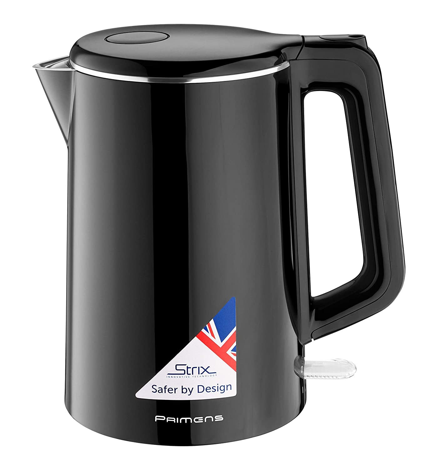 Electric Tea Kettle, Hot Water Electric Kettle 100 Stainless Steel BPA-Free , Double Wall Cool Touch, 1.5L Water Heater Boiler Cordless Kettle, Fast Boil 1500W, Auto Shut Off, Best Boil-Dry Protection