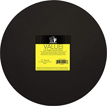 c3df07d04eb Image Unavailable. Image not available for. Color  Fredrix Value Series Cut  Edge Canvas Panel ...