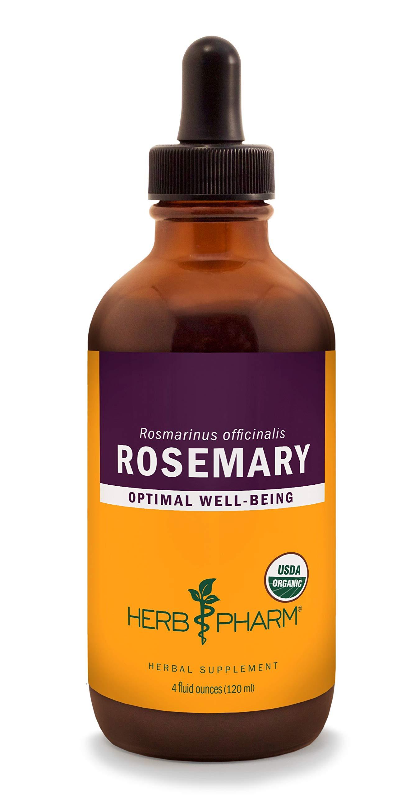 Herb Pharm Certified Organic Rosemary Liquid Extract - 4 Ounce