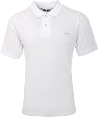 Penn para Hombre Polo Piqué Camiseta Blanco Blanco M: Amazon.es ...