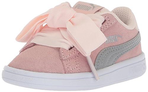 Puma Kids Smash V2 Ribbon Ac Inf Shoes  Amazon.co.uk  Shoes   Bags 1dab74927