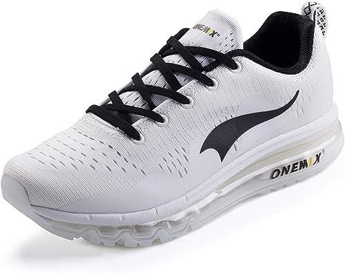 ONEMIX Zapatillas de Running para Hombre, Transpirables Zapatos ...