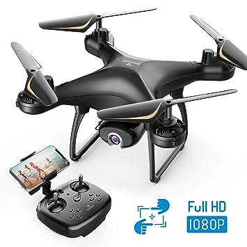 SNAPTAIN SP650 dron con cámara 1080P Full HD 120° gran angular ...
