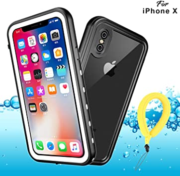 Funda Impermeable iPhone XS iPhone X, IP68 Waterproof Outdoor ...