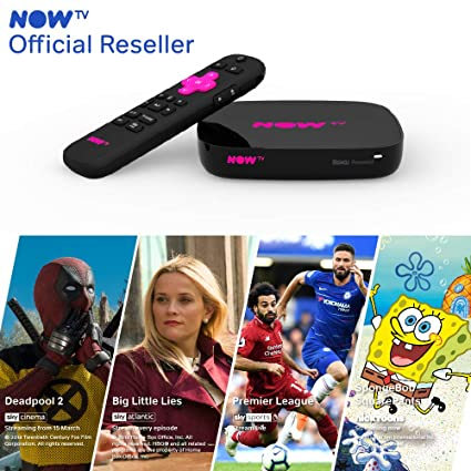 d01fb3b1f41 NOW TV Smart Box with 4K and Voice Search including 4 NOW TV Passes. Watch