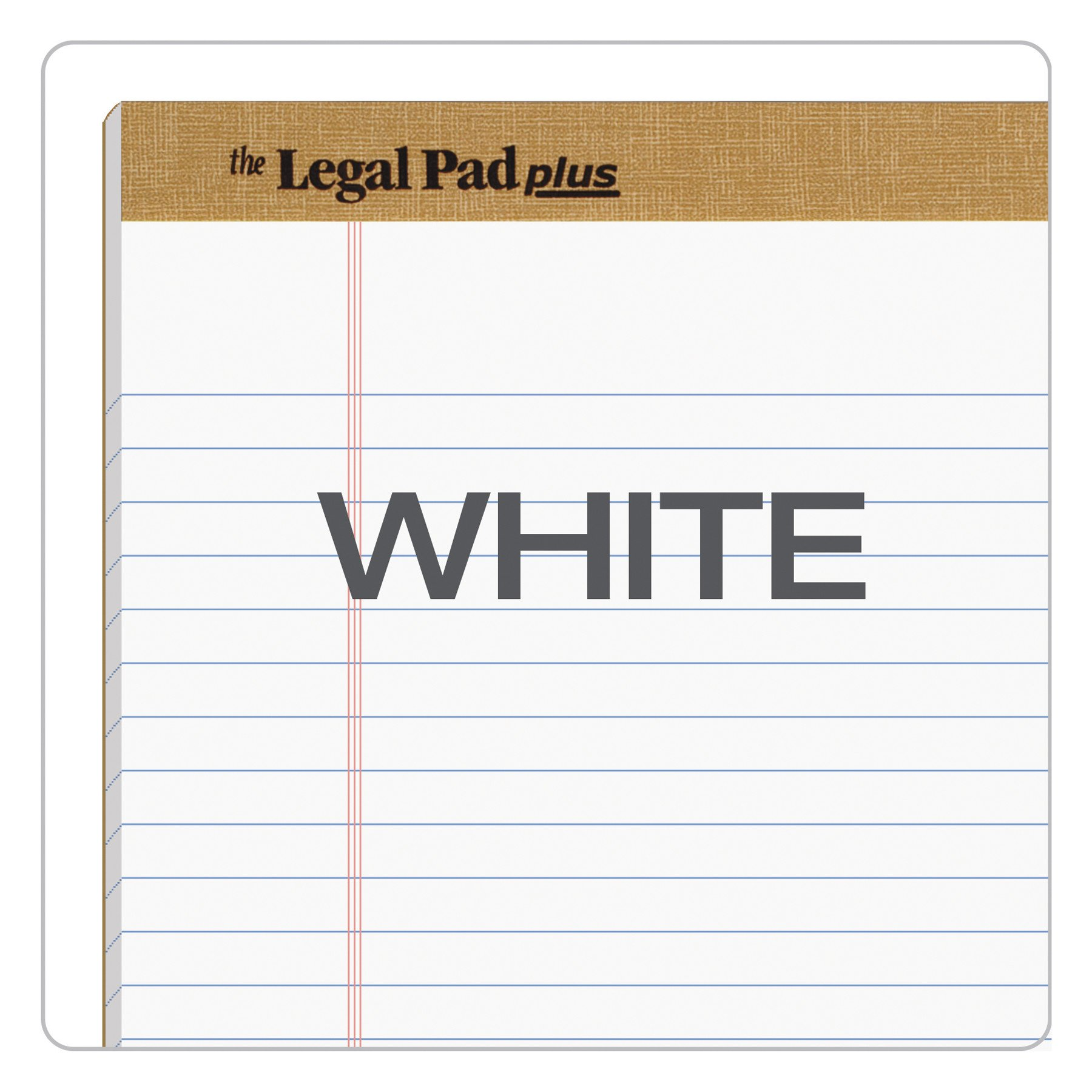 TOPS The Legal Pad Plus Writing Pads, 8-1/2'' x 14'', Legal Rule, 50 Sheets, 12 Pack (71573) by TOPS (Image #6)