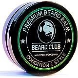 Balsamo per barba premium   Mountain Woodsman (Montagna Tagliaboschi)   Il miglior balsamo e emolliente per barba   100% Naturale & Organico   Ottimo per la cura dei capelli e la crescita