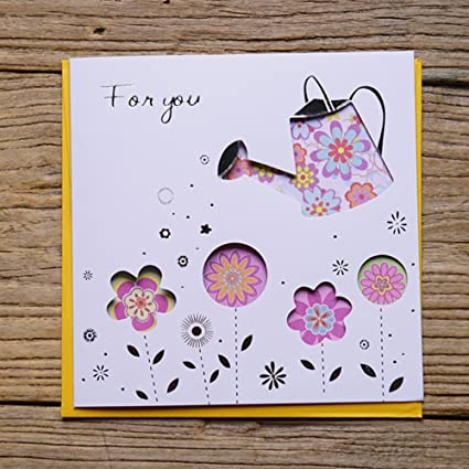 Amazon Mothers Day Card Hollow Thank You Birthdays Wish