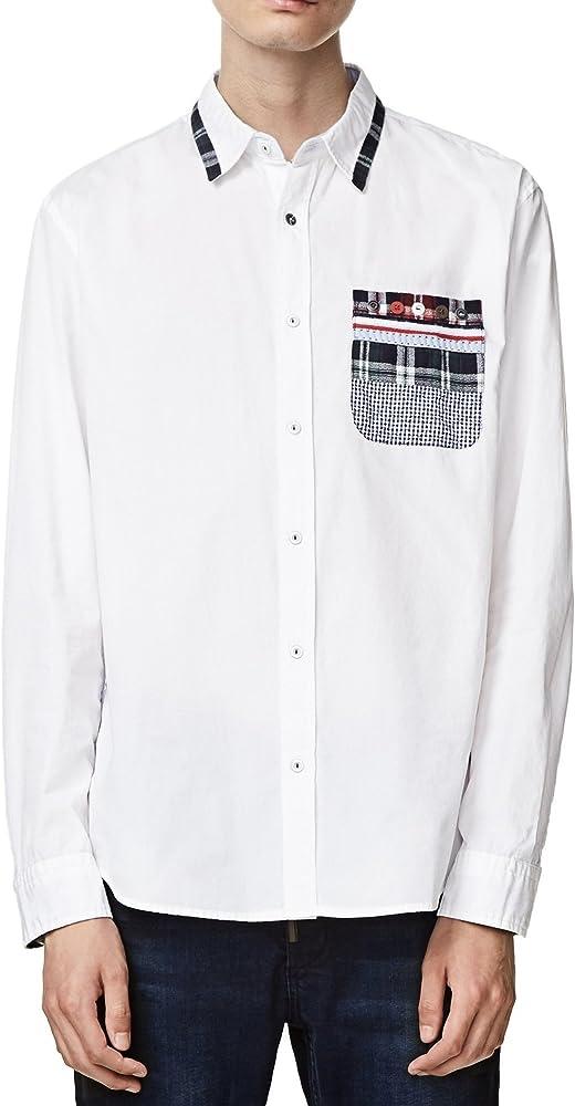 Desigual Cam Oriol - Camisa para hombre 1000 XXL: Amazon.es: Ropa y accesorios