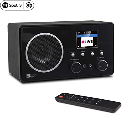 magasin britannique nouveaux produits chauds prix réduit Ocean Digital Internet Radio WiFi Music Player WR282CD - Spotify FM Radios  Antenna Tuner, Airmusic Control APP, Digital Speaker with 3.5mm Aux-in - ...