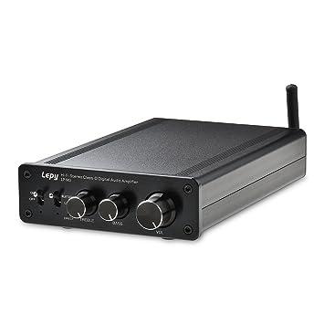 ONEU Premium 2X100W Alta Potencia Bluetooth Amplificador Audio , Clase-D Estéreo Hi-Fi