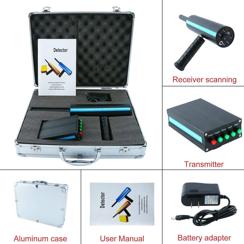 Amazon.com : YaeCCC Gold Metal Detector Long Search Range 3D Gold Detector Professional Metal Detector Search Range 800M/2624ft Detecting Depth 14M/46ft ...