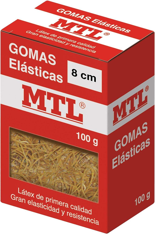 Box of/Elastic Bands 1.5 mm x 10 cm MTL