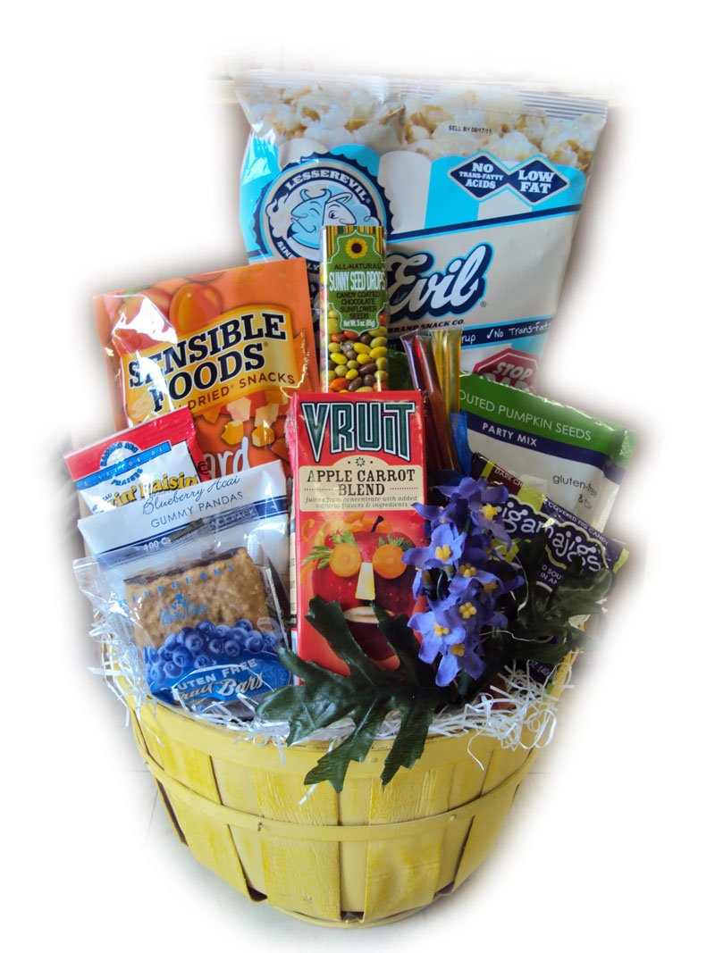 Children's Get Well Healthy Gift Basket by Well Baskets