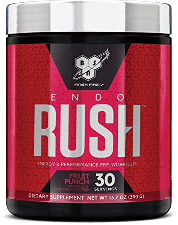 BSN Endorush Energy   Performance Pre-workout Powder With Creatine aaf0129b8812c