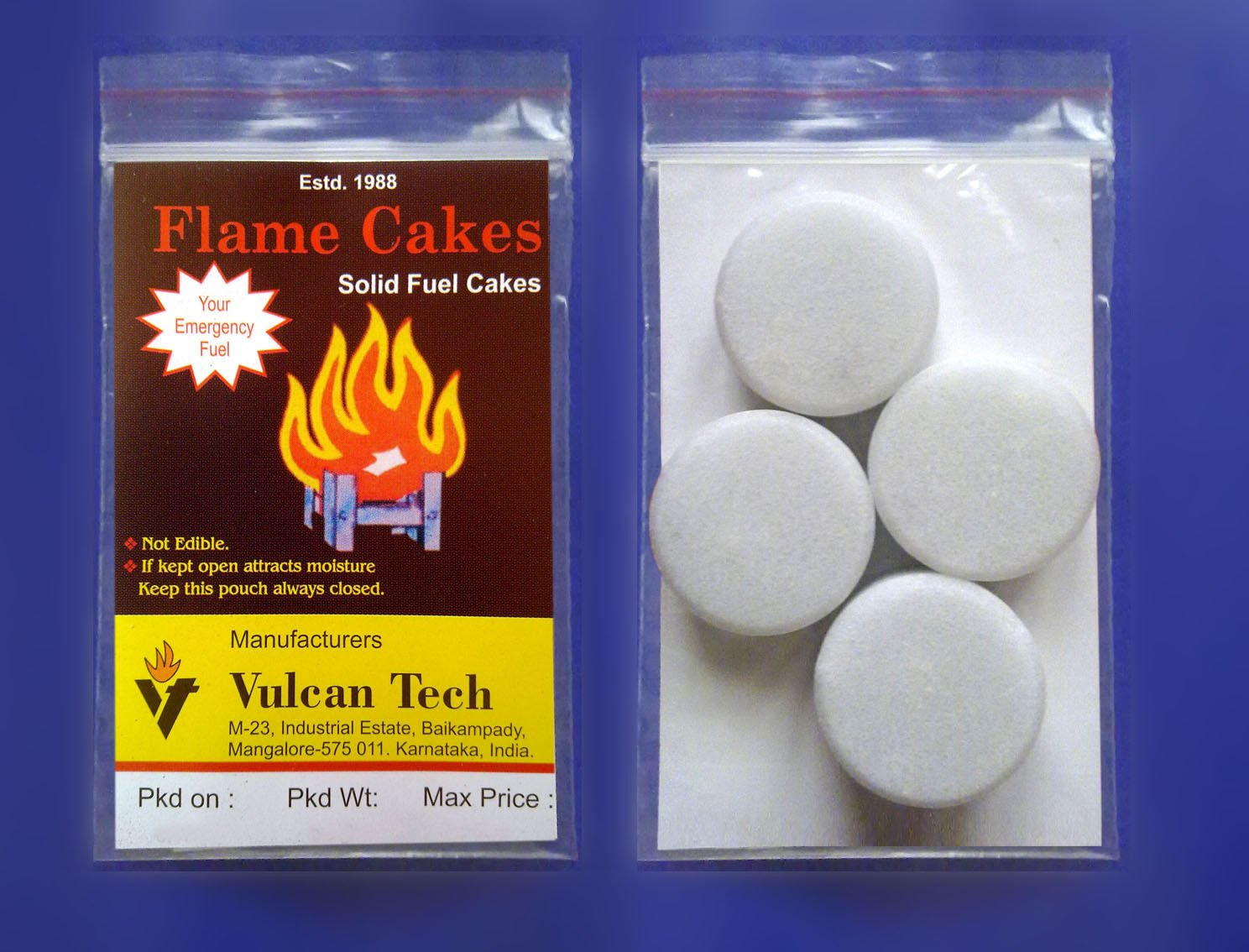 Buy Hexamine Solid Fuel Cakes Online at Low Prices in India - Amazon in