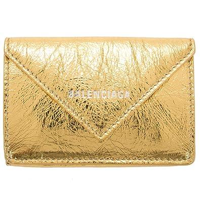 0d62e536411b バレンシアガ 財布 ミニ財布 レディース ペーパー ミニウォレット ペーパーミニウォレット レザー 本革 391446 DLQ0N