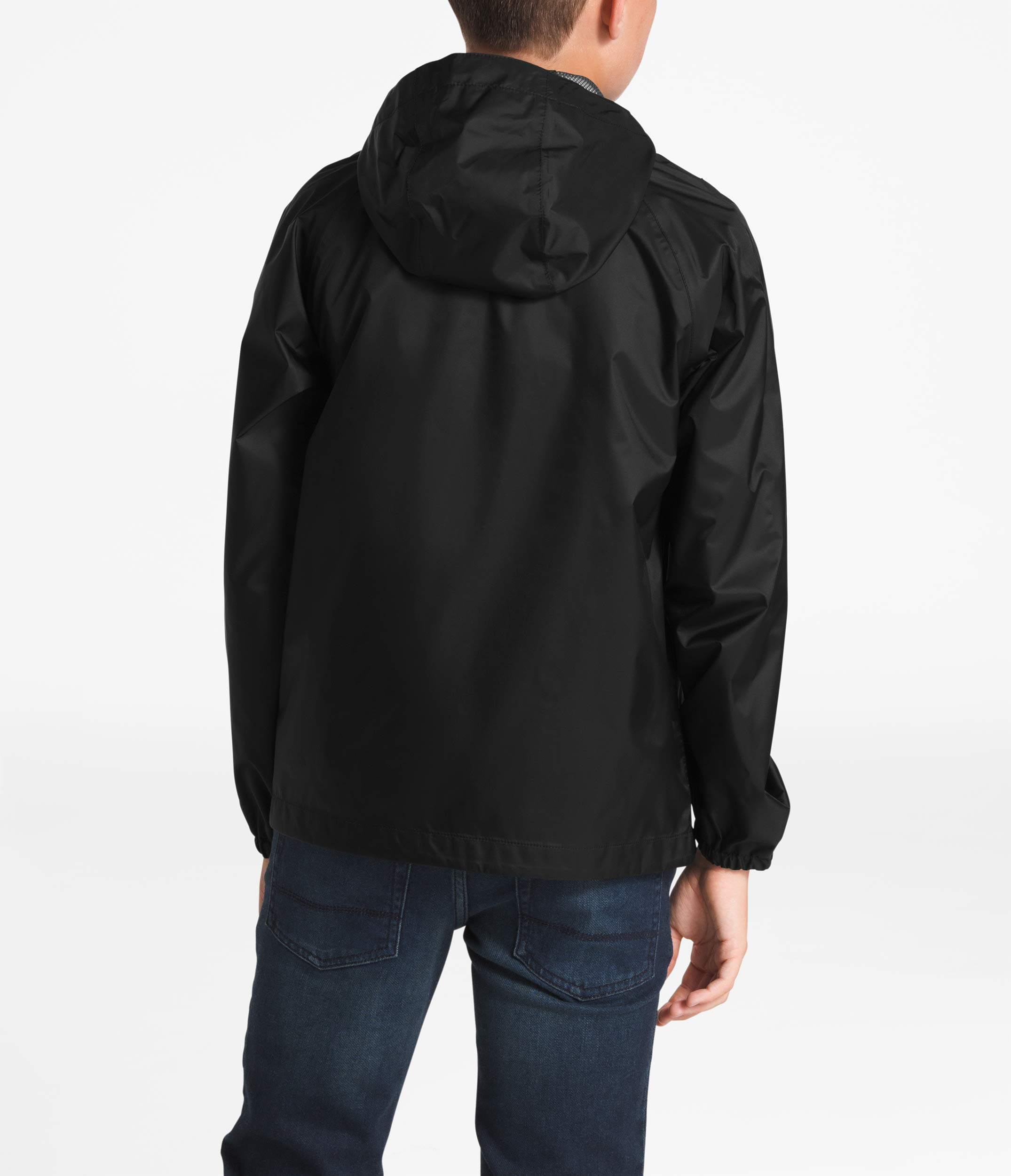 The North Face Kids Boy's Zipline Rain Jacket (Little Kids/Big Kids) TNF Black Large by The North Face (Image #2)