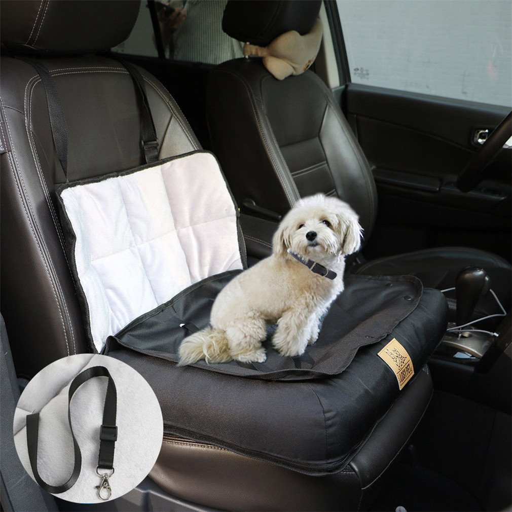 LOSY PET Hunde Autositz 3 in 1 Hund Autositzbezug Wasserdicht Autoschutzdecke Rutschfest S//M//L