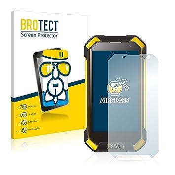 upscreen Protector Anti-Bacterias para Portátiles con 26.9 cm (10.6 pulgadas) [230 mm x 138 mm, 15:9] Película Protectora