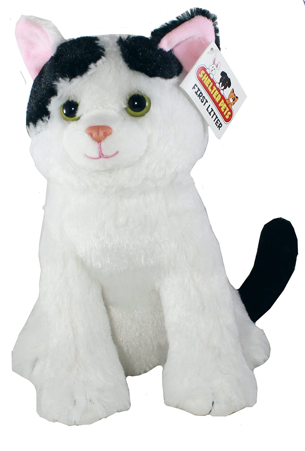 Amazon Com Shelter Pets Series One Nibbles The Cat 10 White And