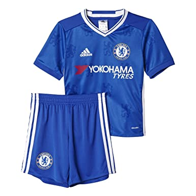 Adidas Chelsea FC Kids Home Soccer Mini Kit 2XS Chelsea Blue-White 09570cf91