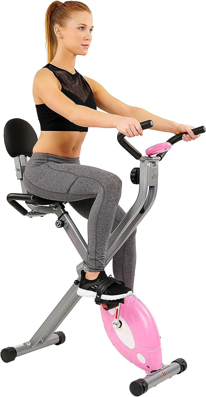 Sunny Health & Fitness Magnetic Folding Bike