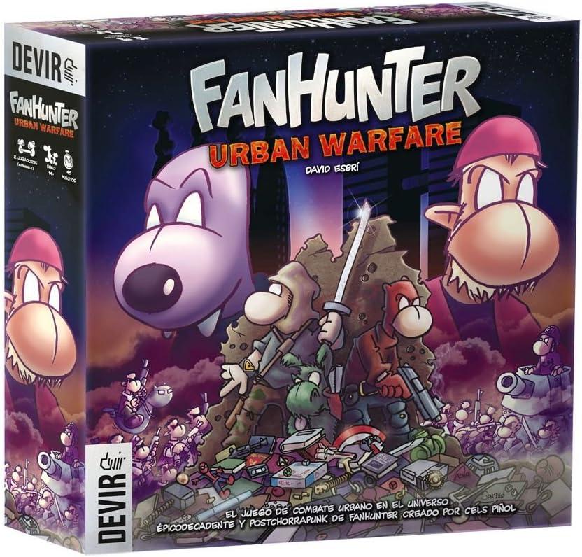 Devir FanHunter Urban Warfare, Juego de Mesa, Miscelanea (BGFHUW): Amazon.es: Juguetes y juegos