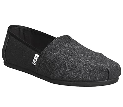 699bfad8e8300 TOMS Women's, Alpargata Shimmer Slip on Shoes
